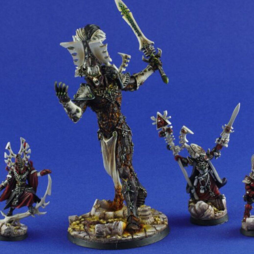 Eldar army, first wave